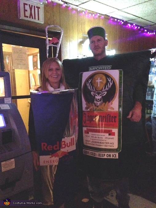 Jager Bomb Couples Costume