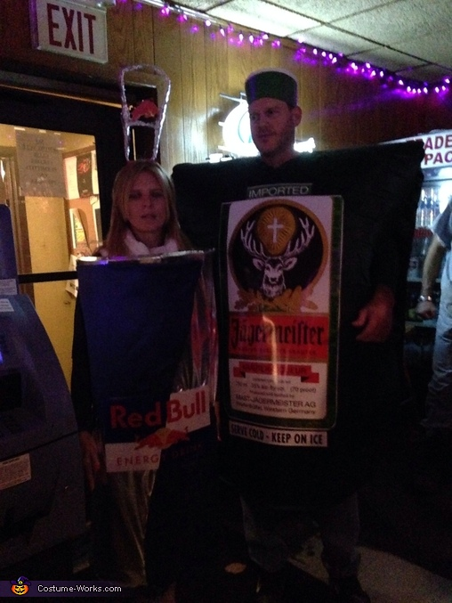 Jager Bomb Homemade Couple Costume