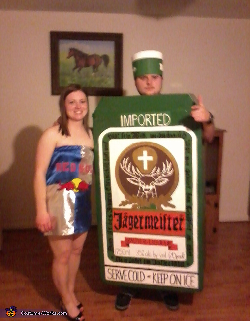 Jager Bombs - Homemade costumes for couples