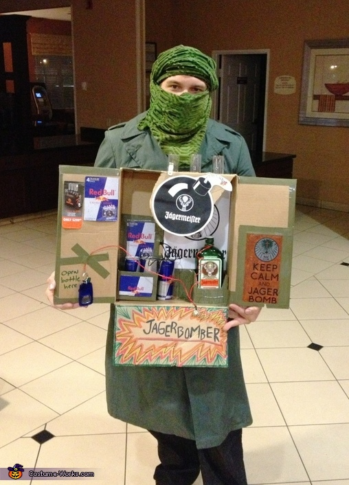 JAGERbomber Costume