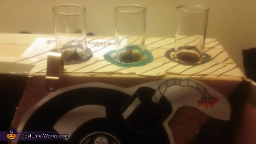 Top shot glass rack! , JAGERbomber Costume