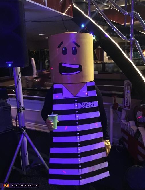 Jail LEGO Costume