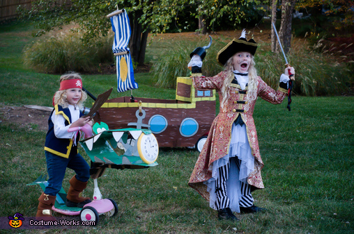 Jake and the Neverland Pirates Homemade Costume