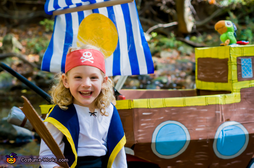Jake and the Neverland Pirates Homemade Costume