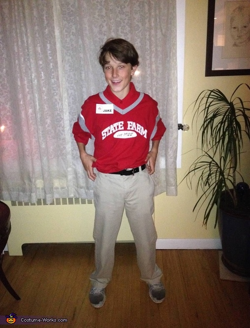 What are you wearing Jake from State Farm? Khakis😊, State Farm Jake Costume