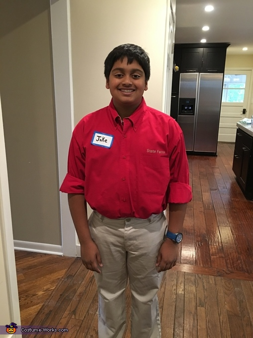Jake from State Farm Costume