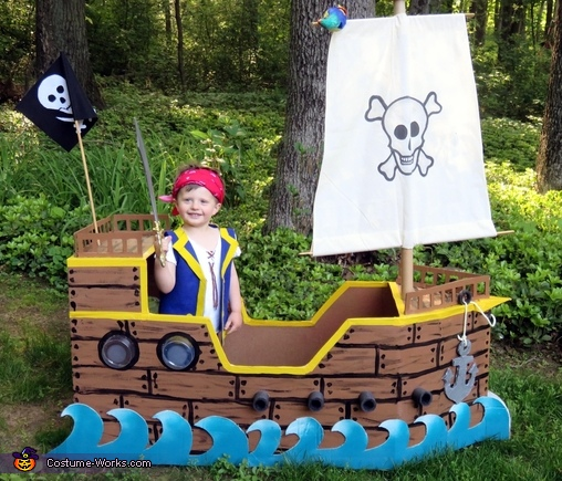 Jake the Pirate and his Ship Costume