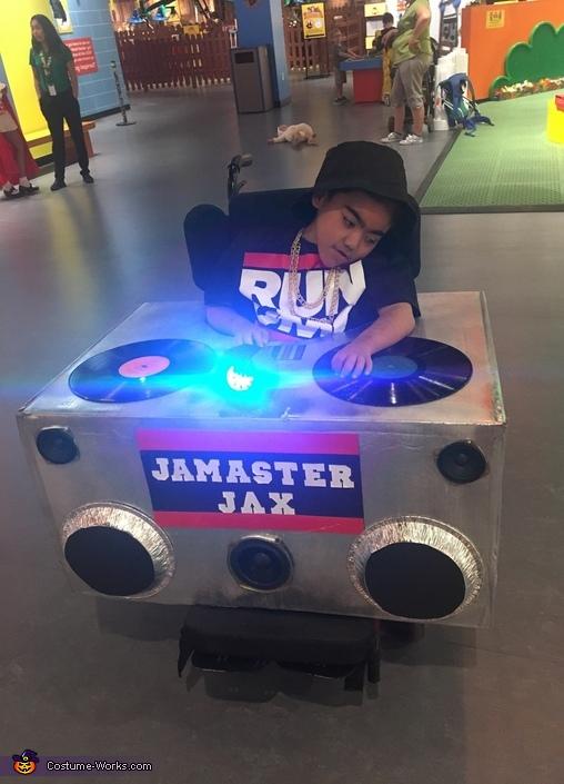 Jam Master Jax Costume