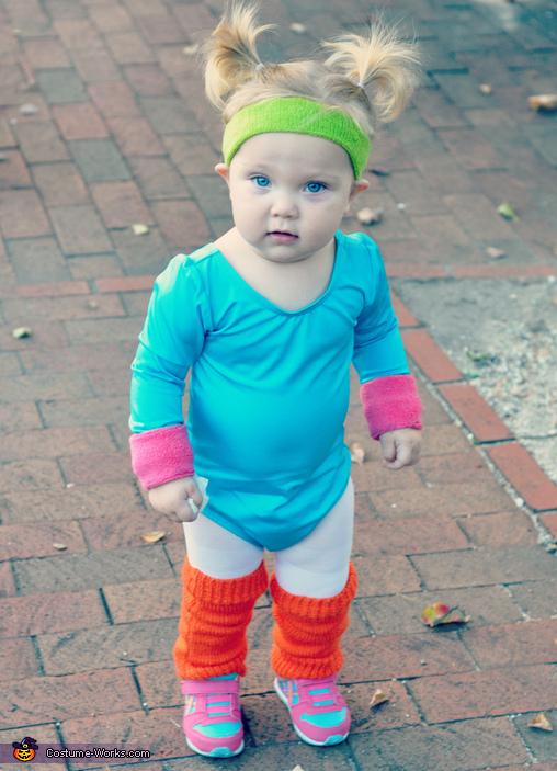 Jane Fonda Baby Costume