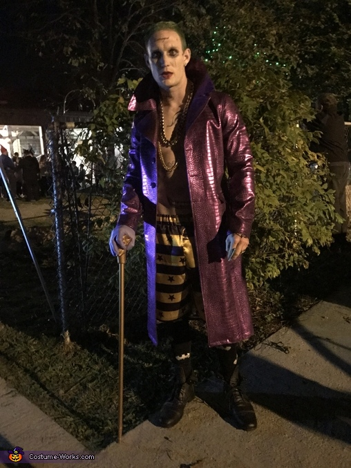 Jared Leto Joker Costume