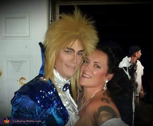 Jareth and Sarah Costume