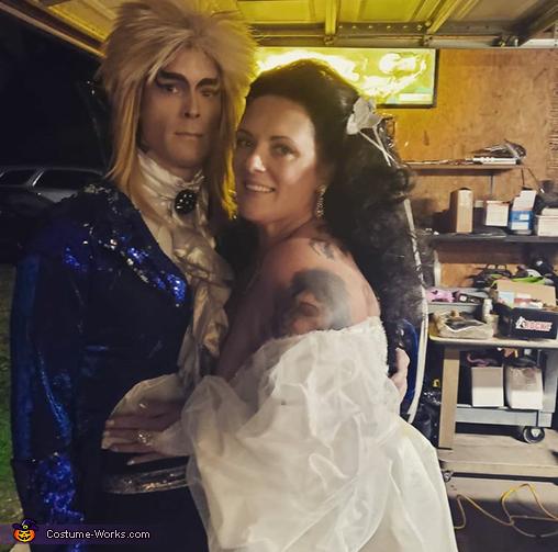 Jareth and Sarah Homemade Costume