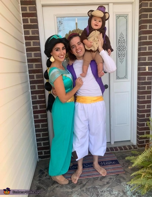Jasmine, Aladdin and monkey Abu Costume