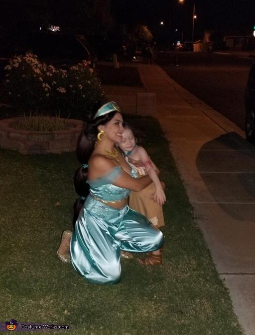 Jasmine and Phocohantis, Jasmine and Aladdin Costume
