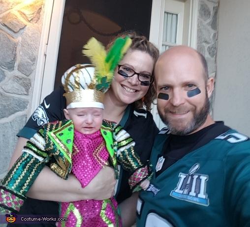 Jason Kelce Mummer's Fan Costume