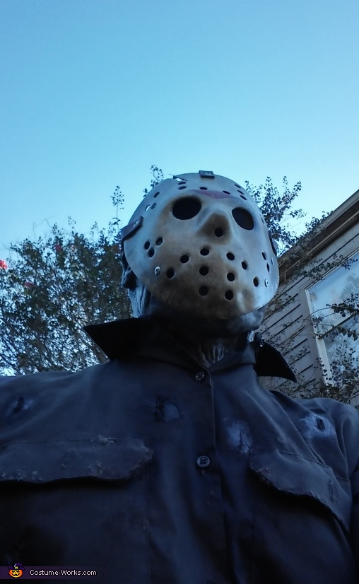 Hero shot, Jason Lives Costume