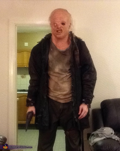 Unmasked Version, Jason Voorhees Costume