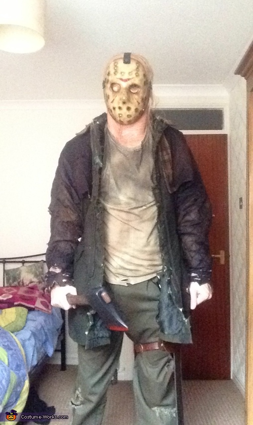 Another shot, Jason Voorhees Costume