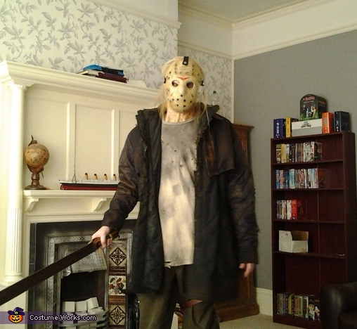 Halloween Costume Jason Friday 13th.Jason Voorhees Friday The 13th Halloween Costume