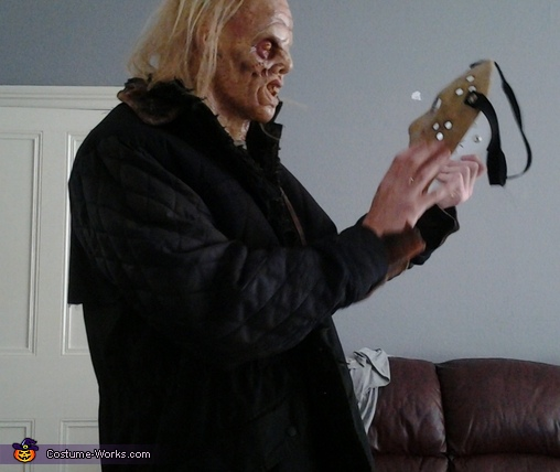 unmasked version, Jason Voorhees Friday the 13th Costume