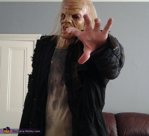 another unmasked shot, Jason Voorhees Friday the 13th Costume
