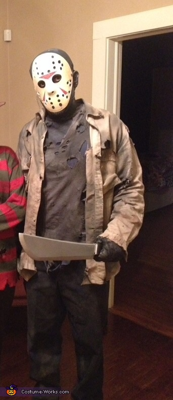 Jason Voorhees Friday the 13th Homemade Costume