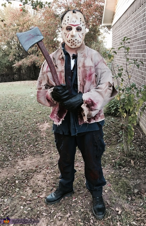 Halloween Costume Jason Friday 13th.Jason Voorhees Friday The 13th Costume