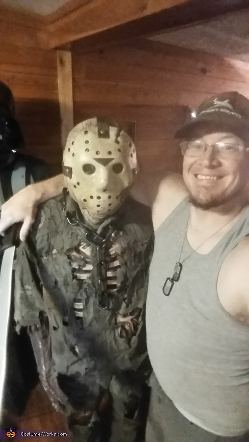 Jason and his cosplayer Jason Voorhees Part 7 Costume  sc 1 st  Costume Works & Jason Voorhees Part 7 Costume - Photo 9/10
