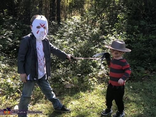Jason vs Freddy Homemade Costume