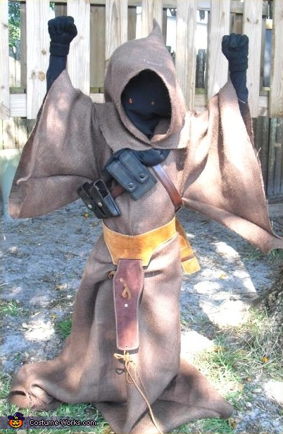 Jawa from Star Wars - Homemade costumes for boys