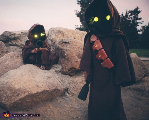 Caves are perfect place to find Jawas., Jawas Costume
