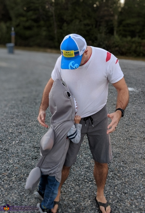 Attacked by Jaws, Jaws Attacks Costume