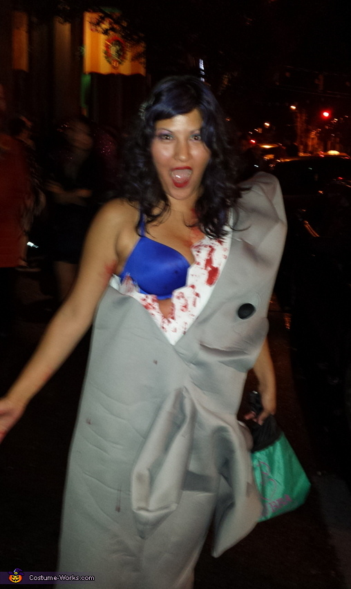 Jaws eating Girl Costume