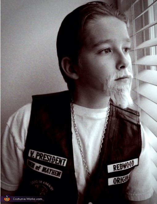 James as Jax, Jax from Sons of Anarchy Costume