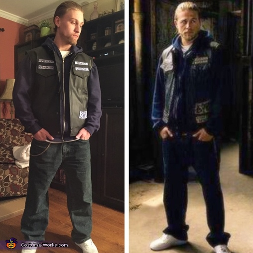 My costume and the real Jax, Jax Teller Costume