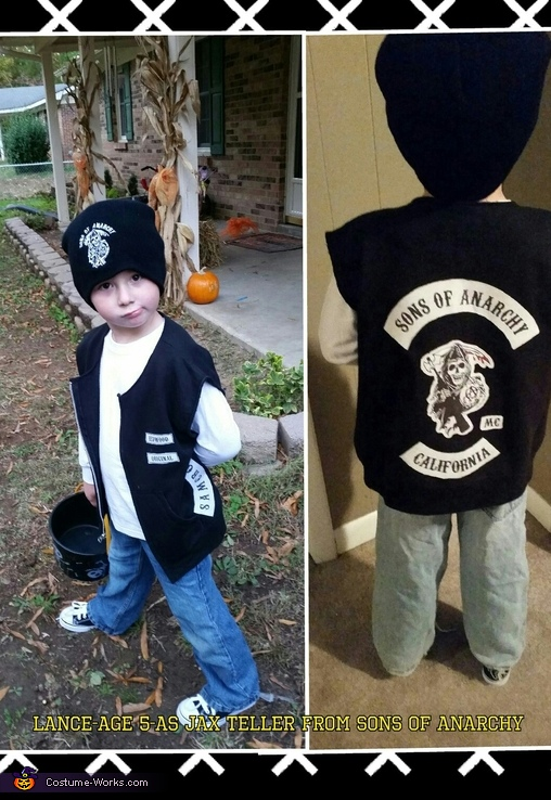 Lance as Jax Teller from Sons of Anarchy, Jax Teller Costume