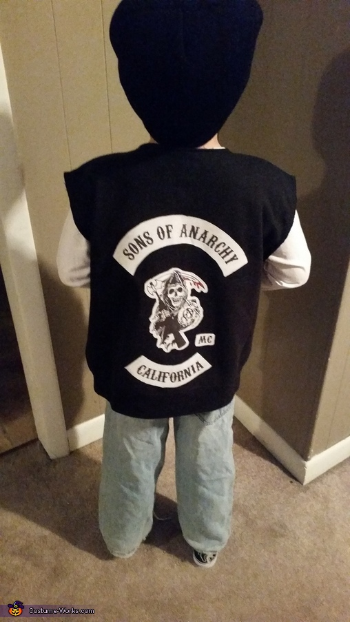 The back, Jax Teller Costume
