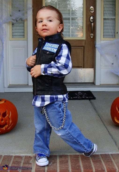 Jax Teller Costume  sc 1 st  Costume Works & SOA Jax Teller Costume for Boys