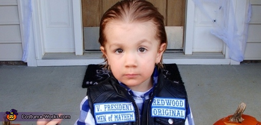 SOA Jax Teller Costume for Boys
