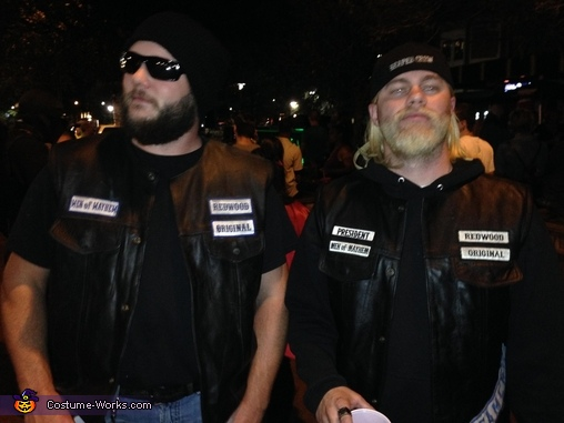 Sons of Anarchy Jax Teller and Opie Costume