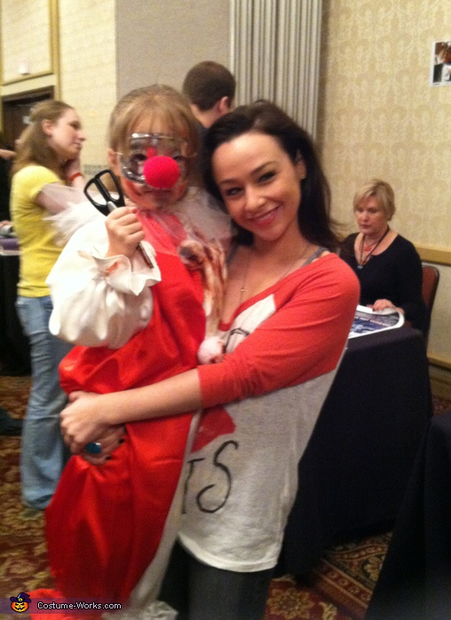 Jaylynn and Danielle Harris. Jamie Lloyd - Homemade costumes for girls