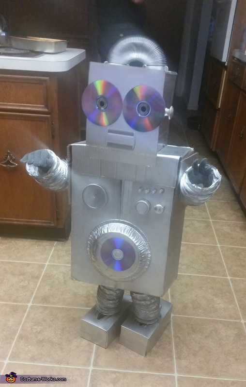 JD 2000 Robot Costume