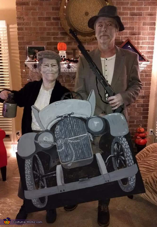 Jed and Granny Clampett Costume