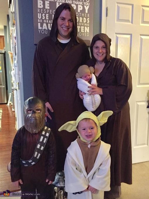 Jedi Family Costume