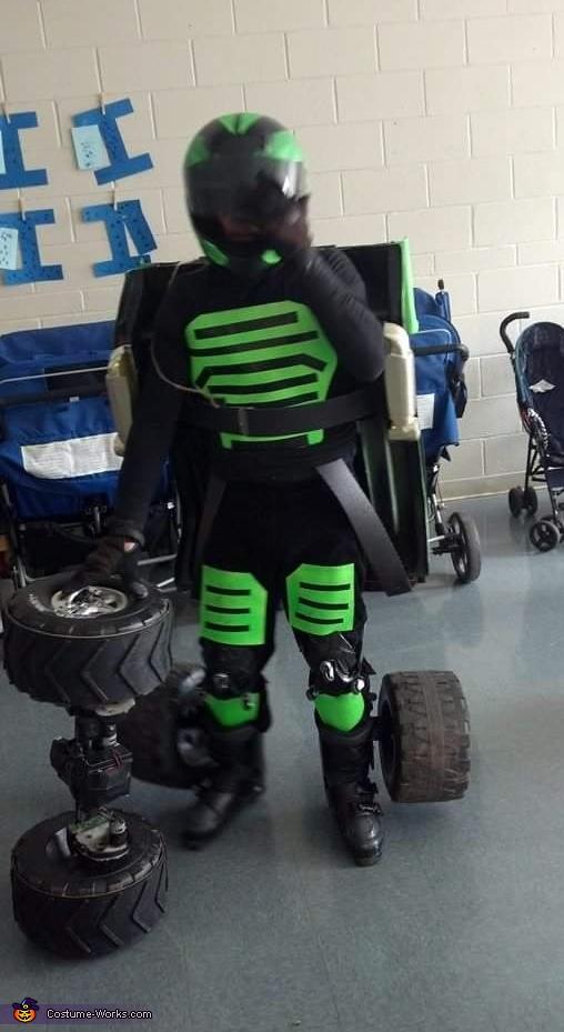 Jeep Transformer Costume