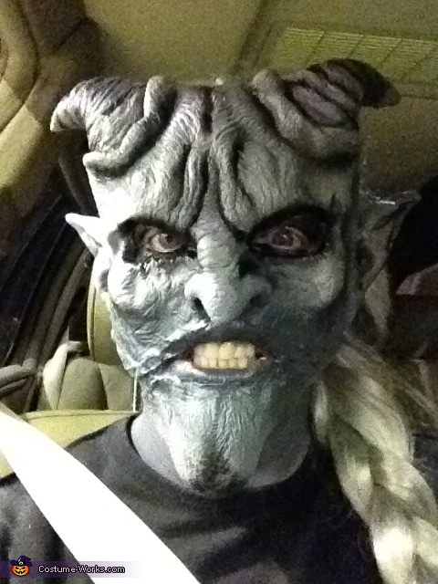 Jeepers Creepers close up, Jeepers Creepers Costume