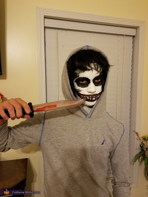 Jeff the Killer, Jeff the Killer Costume