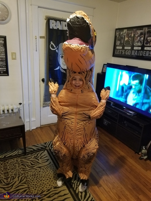 Jeff the T-Rex Costume