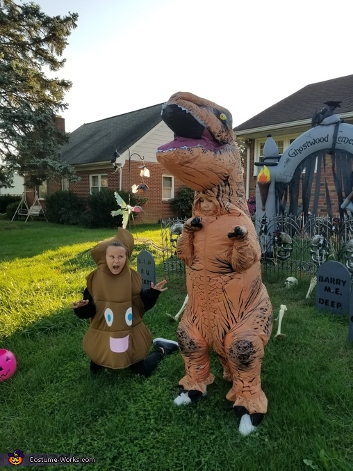 Jeff the T-Rex Costume
