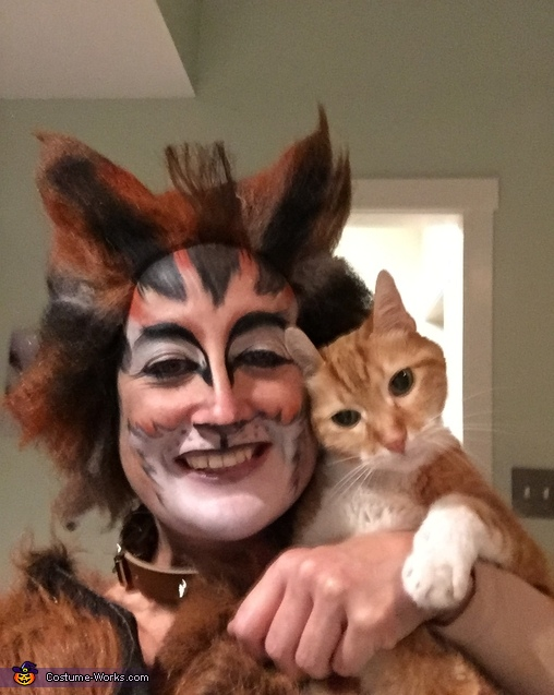 Jellicle Cats Homemade Costume